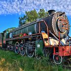 Old Steam Loco by JandeBeer