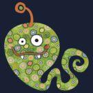 Green Worm by sandygrafik