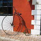 Old Bike by Christine Wilson