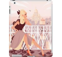 Sacré Coeur iPad Case/Skin