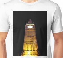 Big Ben – Paint & Poster Effect Unisex T-Shirt