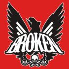 Screaming Eagle Broken Logo by BrokenSk8boards