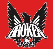 Screaming Eagle Broken Logo by BrokenSk8boards