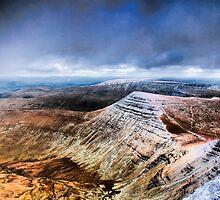 View of Crybyn by Edward Bentley