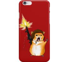 Hamster Rambo iPhone Case/Skin