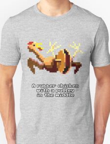 Monkey Island - Rubber chicken with a pulley in the middle T-Shirt