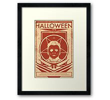 """Halloween 1978""  Framed Print"
