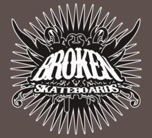 Broken Starburst Logo by BrokenSk8boards