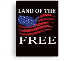 Land Of Free Canvas Print