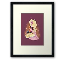 Lady Rainicorn Framed Print