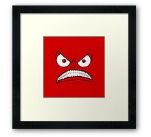 Emotional Angry Monday Framed Print