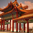 Thean Hou Temple by Peter Rattigan
