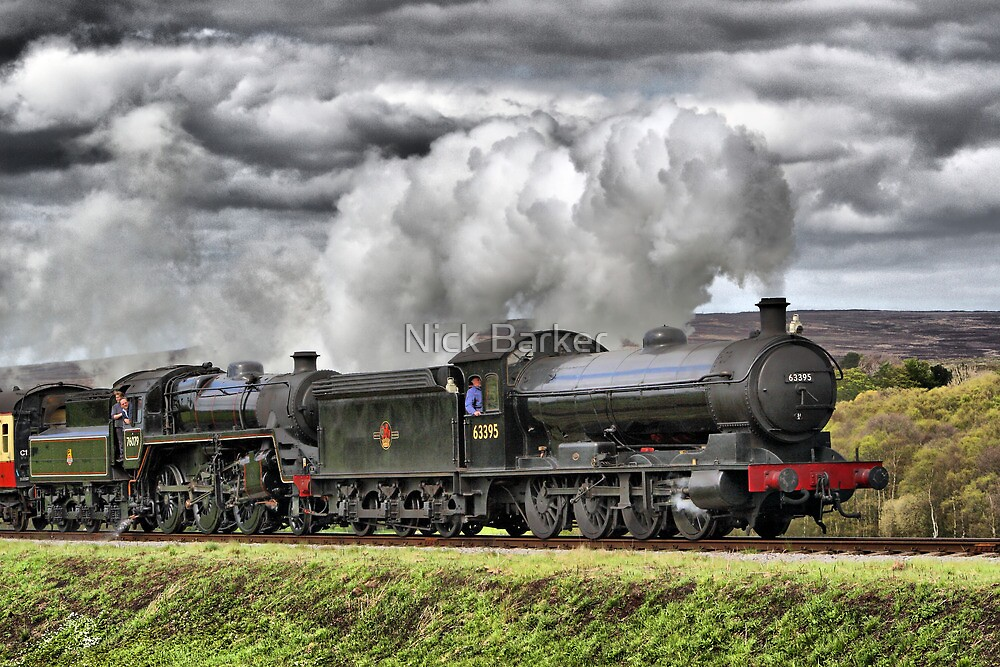 Full Steam Ahead by Nick Barker