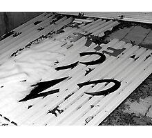 Signage Photographic Print