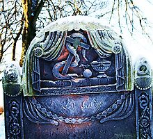Frosty Gravestone by Breo