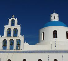 Bells and Blue Dome by Lucinda Walter