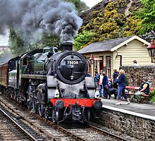 Steaming into Goathland by Nick Barker