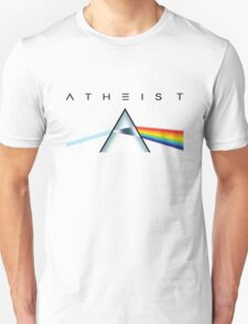 ATHEIST - A prism for seeing the light (Light backgrounds) T-Shirt