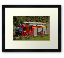 Fire and Rescue Framed Print