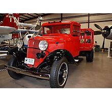 1934 Ford V8 Stakebody Truck Photographic Print