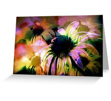 Daisy Field Impression Greeting Card