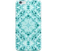 """Spirit of India: Magic Diamond"" in white and blue-turquoise iPhone Case/Skin"