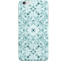 """""""Spirit of India: Two Crosses"""" in white and turquoise iPhone Case/Skin"""