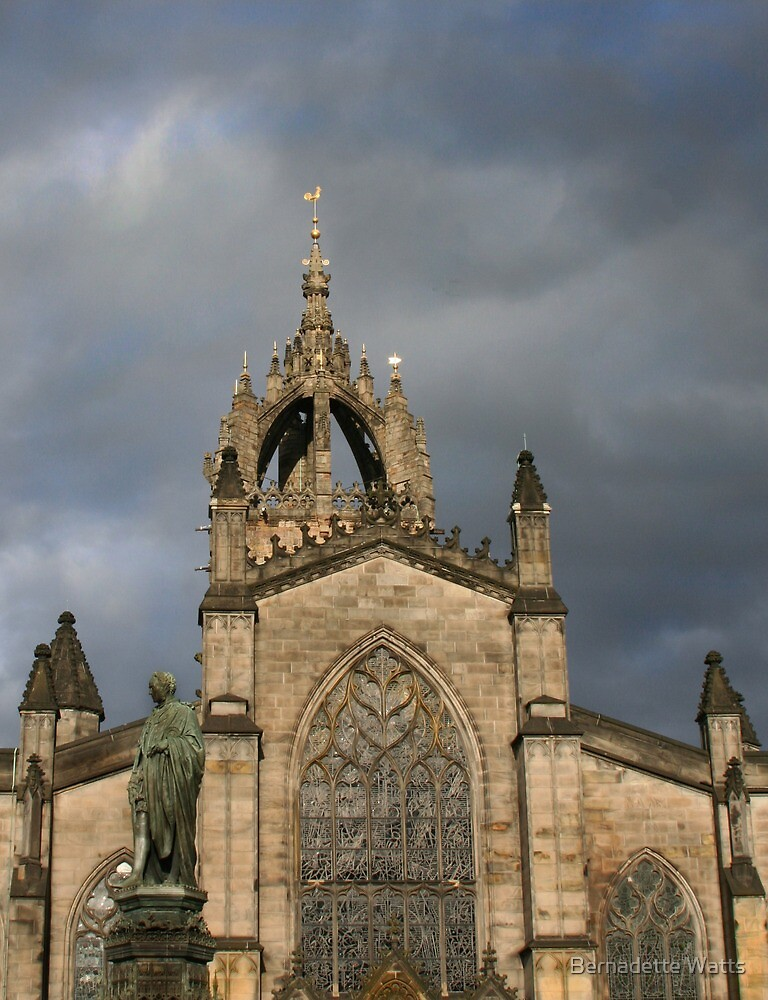 Light before the Storm, St. Giles Cathedral by Bernadette Watts