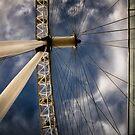 The Wheel by Frank Waechter