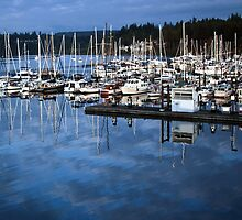 Port Ludlow in the morning by Kay Martin