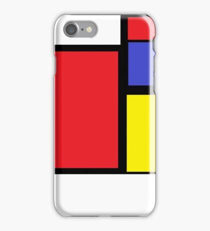 Tribute to 80's Mondrian iPhone Case/Skin