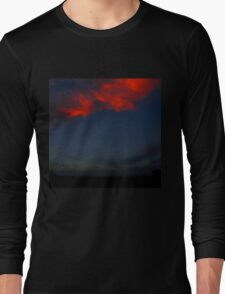 The Clouds Are Falling Long Sleeve T-Shirt