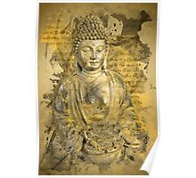 Buddha The Noble Truths Poster