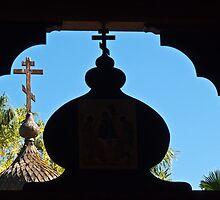 St. Anthony's Greek Orthodox Monastery by Linda Gregory