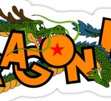 dragonball logo Sticker