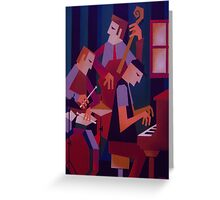MIKE NOCK TRIO Greeting Card
