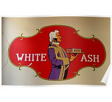 """""""Ashes to ashes""""  vintage wall adverb  Poster"""