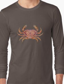 Dungeness Crab (Metacarcinus magister) Long Sleeve T-Shirt