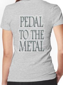 Pedal to the Metal, Motorsport, Cars, Speed, Motoring, Racing, Formula 1 Women's Fitted V-Neck T-Shirt