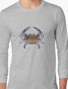 Blue Crab (Callinectus sapidus) Long Sleeve T-Shirt
