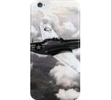P51 1944 Air to Air iPhone Case/Skin
