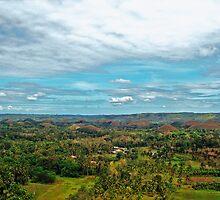Celebrity Choco Hills  by Ferdinand Lucino