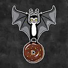 Bat and Donut by blacklilypie