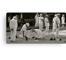 Go the distance to win. (Measure the distance to win) Canvas Print