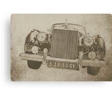 Just a Rolls Royce Canvas Print