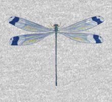 Helicopter Damselfly One Piece - Long Sleeve