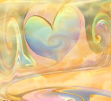 LOVE IS A MANY SPLENDORED THING- ABSTRACT  Art + Products Design  by haya1812