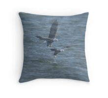 Double effect Throw Pillow