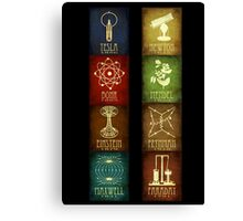Science Banner Canvas Print