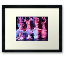 Dance crescendo Framed Print